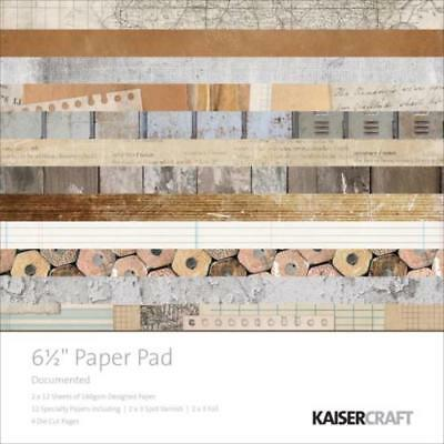KAISERCRAFT Scrapbooking Paper Pads - Documented - Nini's Things
