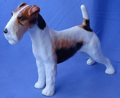 """Wire Fox Terrier Jack Russell Dog Alton England 8"""""""