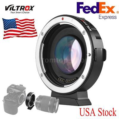 VILTROX Auto Focus Lens Adapter Ring 0.71X Aperture for Canon EF Camera to M4/3