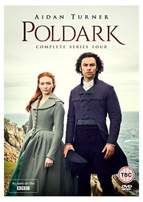 Poldark Series 4 [DVD] [2018] [New DVD]