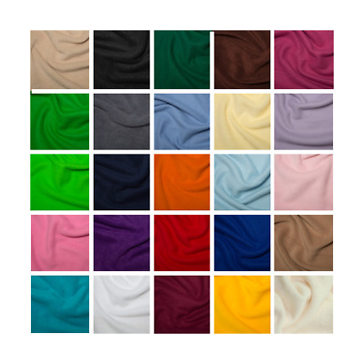 Plain Coloured Polar Fleece Anti Pil Fabric Material Pet Bed Blanket