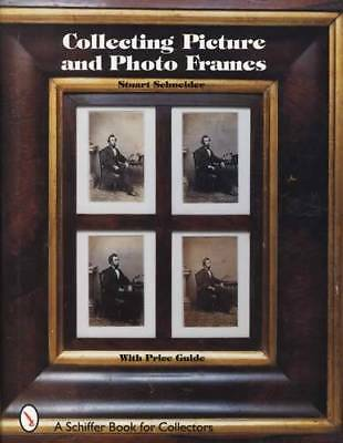 Antique Picture Frames Reference Guide incl Wood, Mosaic, Repair Tips & More