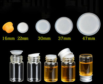 Silicone Inner Seal Plug For 16mm 22mm 27mm 37mm 47mm Diameter Glass Bottles