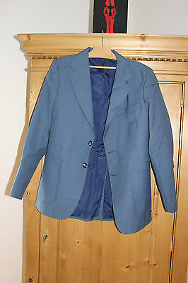 Antique jacket grandfather Blue dark - TERGAL - New without label
