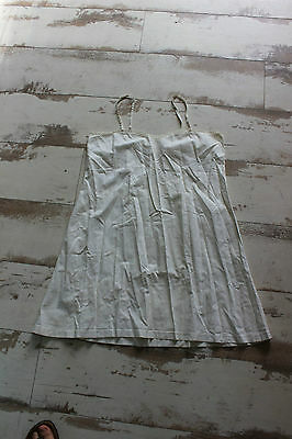 Antique babydoll dress white - Embroidered - Handcrafted - Embroidery Blouse