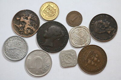 World Old Coins Useful Lot A88 Rzk33