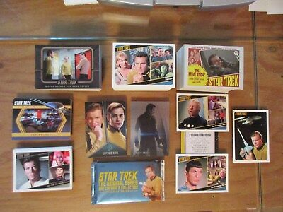 Star Trek The Original Series Captains Collection Deluxe Mini-Master Set + TOS