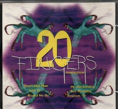 "CD "" 20 FINGERS "" COMPILATION : Short Dick Man - Lick it - Round We Go - ...."