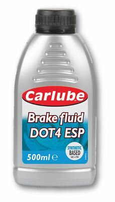 Carlube Synthetic Brake & Clutch Fluid Dot4 Esp For Advanced Braking Sys 500M