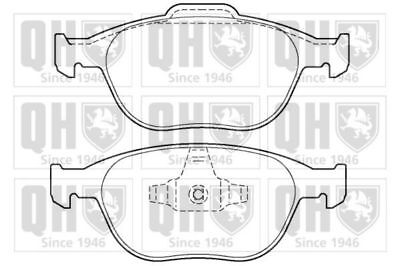 Genuine Qh Brake Pad Braking System Replacement Front Axle Ford Bp1386