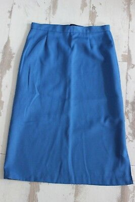 Antique skirting blue - T. 36 38 - starboard wing - Handcrafted