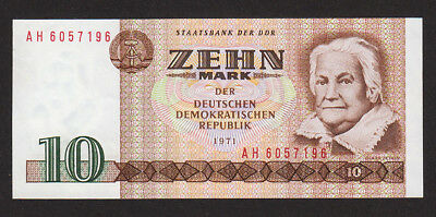 Deutschland / Germany 10 Mark DDR 1971 / UNC