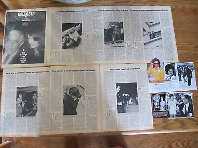 Family Kennedy Nice Lot French Us Clippings,jackie,john....