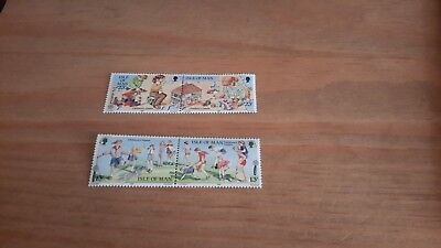 Isle Of Man -Europa Childerns Games 1989 - New - Stamps