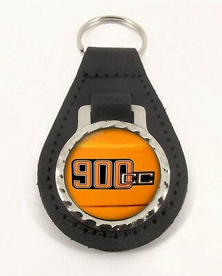 Bmw R90 6 Reg gb Cherished Number Plate Leather Keyring For Bmw R906 Owners