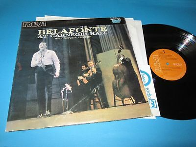 Harry Belafonte / At Carnegie Hall (Italy, RCA Victor LOC-6006) - 2 LP