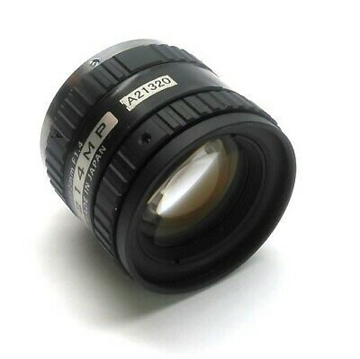 Megapixel 1214MP Machine Vision Camera Lens 12mm Focal Length F1.4-16C C-Mount