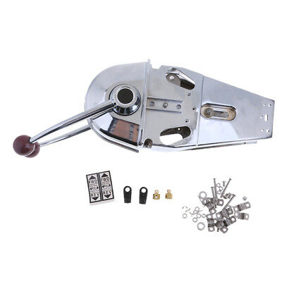 YK9-D Zinc Alloy Throttle Control Boat Dual Control Lever Top Mount