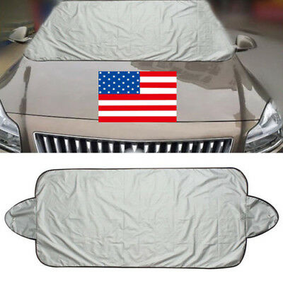 Car Windshield Cover Front Rear Window Sun Shade Visor Protect 200*70cm US STOCK