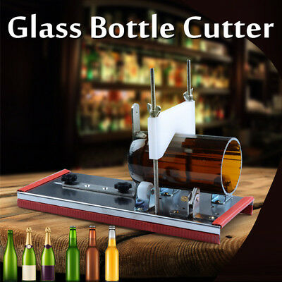 Glass Beer Wine Bottle Jar Accurate Cutter Machine DIY Recycle Cutting Tool Kit