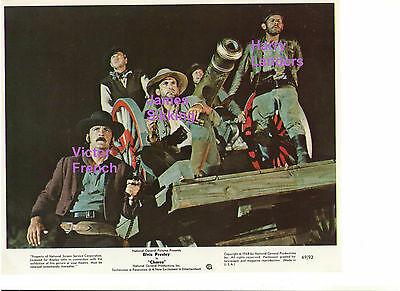 Charro Victor French James Sikking W/ Tnt Landers Original Vintage Lobby Card