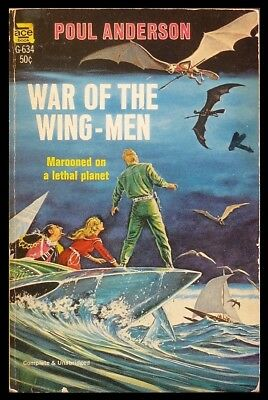 Poul Anderson - War of the Wing-Men - Ace Paperback (G-634) 1st EDITION 1958