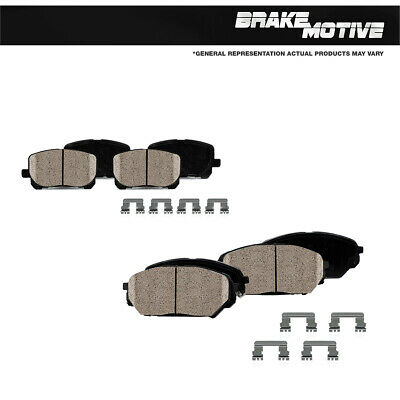Front And Rear Ceramic Brakes Fit 2009 - 2016 Toyota Venza