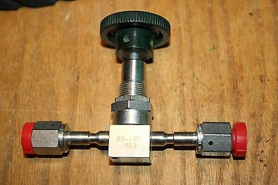 Swagelok Nupro SS-4BW-V13 Bellows-Sealed Valve