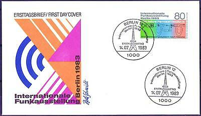 Berlin 1983: Internationale Funkausstellung 1983! FDC der Nr. 702! 1807