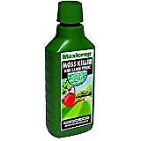 Maxicrop Moss Killer & Lawn Tonic, seaweed extract with added ferrous sulphate -
