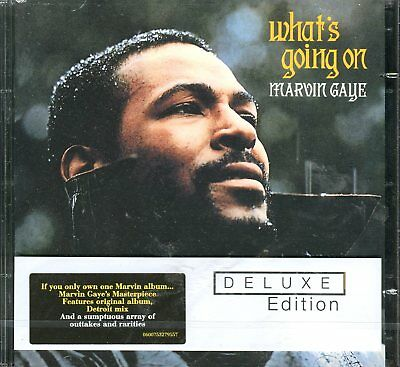 Marvin Gaye - What's Going On  Deluxe Edition 2 CD Rear Set Mercy Mercy Me +more