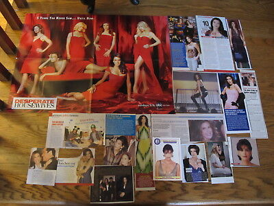 Teri Hatcher Big Lot French Us Clippings,poster