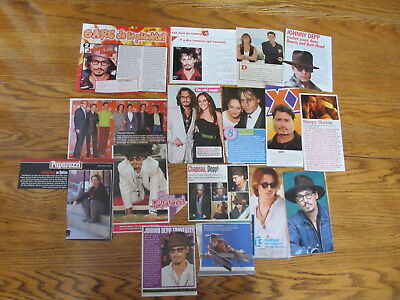 Johnny Depp Big Lot French Us Clippings