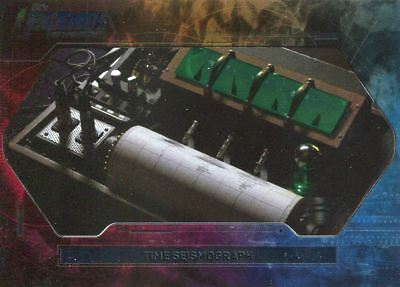 DC Legends Of Tomorrow Foil Objects Chase Card L1 Time Seismograph