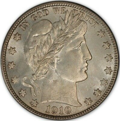 1910-S 50C Barber Half Dollar PCGS MS65