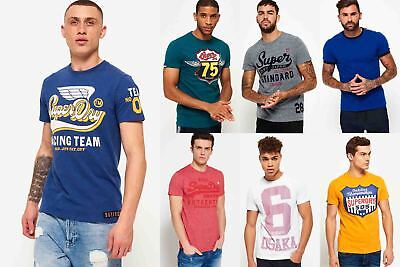 New Mens Superdry Tshirts Selection - Various Styles & Colours 0307