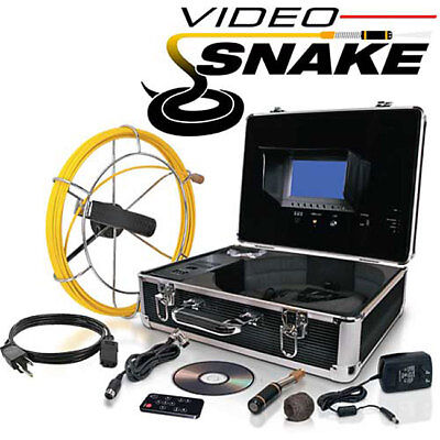 Video Snake Pipe and Wall Inspection System