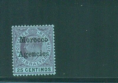 Morocco Agencies 1903 25c KEVII Mint SG 20