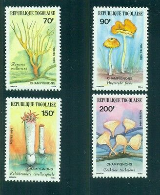 Togo 1986 Mushrooms Fungi  MNH