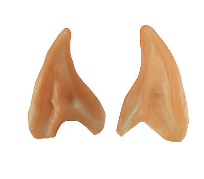 Small Elf Ears Pointed Ear Tips Alien Spock Costume Cosplay Fairy Pixie Hobbit