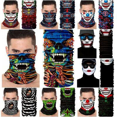 Outdoor Headwear Neck Gaiter Balaclava Face Mask SunMask Fishing Scarf bandana
