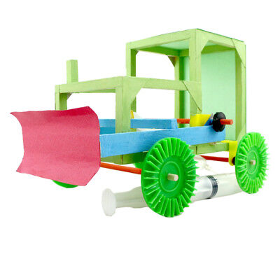 MagiDeal DIY Montage Bulldozer Modell Kits Physical Teaching Toy Educative