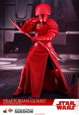 Hot Toys Star Wars: The Last Jedi PRAETORIAN GUARD DOUBLE BLADE Figure 1/6 Scale