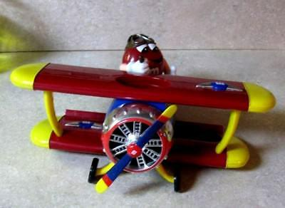 M&M candy Dispenser Bi-Plane Barnstorming Cool item