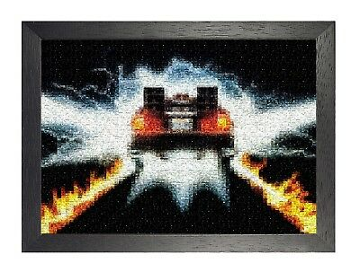 3 Back To The Future Artwork Classic Movie Picture Vintage Poster Car TV Photo