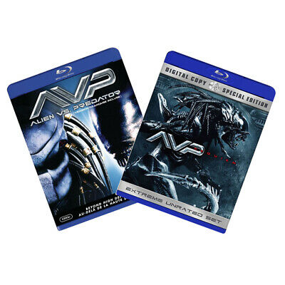 Alien vs. Predator / Alien vs. Predator: Requiem (Double Pack) [Blu-ray] NEW!