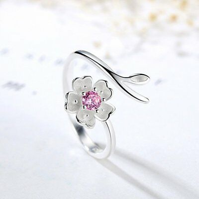 Fashion Flower Rhinestone Animal Cat Small Bell Women Finger Rings Knuckle Party