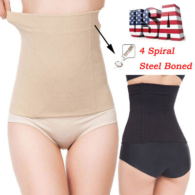 US Postpartum Belly Recovery Band After Baby Tummy Slimming Belt Body Shaper LTD
