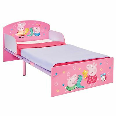 Peppa Pig Toddler Bed & Mattress Options - Girls Bedroom Pink Character