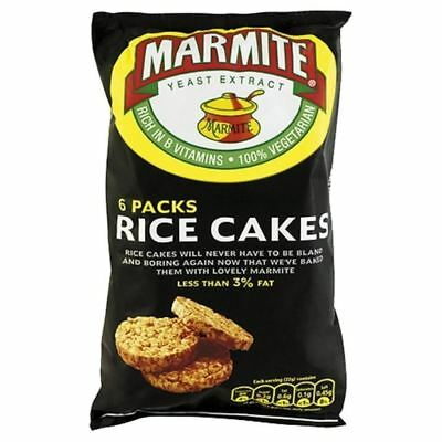 Marmite Rice Cake Multipack 6 x 22g - Pack of 6